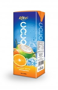 200ml Coconut  water with orange  1