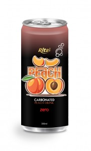 250ml carbonated peach drink