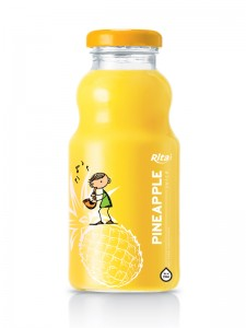 250ml glass bottle pineapple juice