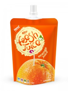 300ml Pouch Orange Juice